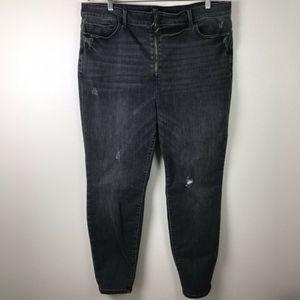 3/$20 Forever 21 Gray Skinny Jeans